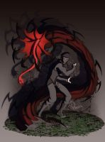 Commish - Tsel and His Darkness by Harseik