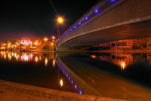 Bridge At Night by Argothar