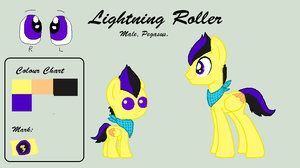 Lightning Roller by TinyWolfy