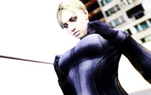 Jill Valentine, Why are you kinky? by LordHayabusa357