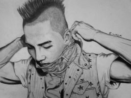 TaeYang Drawing #2 by EWALK131