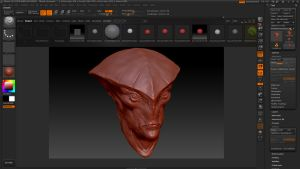 ZBrush - First project. Javik from Mass Effect WIP by MVestala