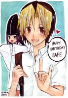 Hikaru say HBD by mixed-blessing