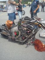Resident Evil Chopper by vincent-is-mine