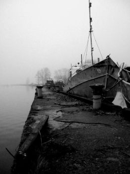 The Dock after flood by Cherybone
