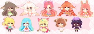 Mini Cheeb Batch 2 by myaoh