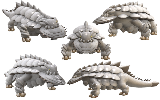 Spore Creature: Ukanlos (Monster Hunter) by Evilution90