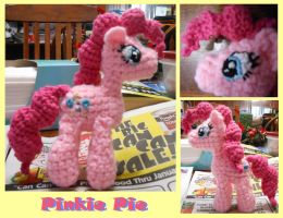 Pinkie Pie doll by JenniferElluin