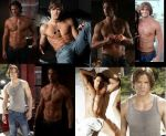 Jared Padalecki SHIRTLESS collage by slayerxy
