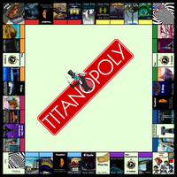 Teen Titans Monopoly Version - Titanopoly by StarfireG