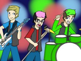 Let's Play Band by KammyBale