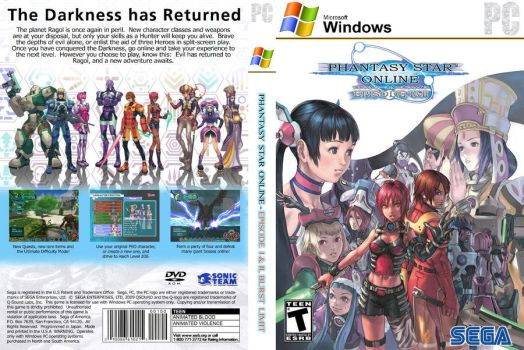 Phantasy Star Online Box by vbeniaminov