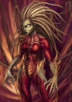 Kerrigan, Queen of Blades by lizardbeth