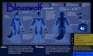 Bleuxwolf Anthro Ref Sheet by Bleuxwolf