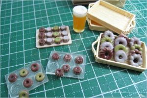 Donuts, Canele, and Beer by asuka-sakumo