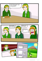 LoZ: Boardroom Meeting by NinjaFalcon90