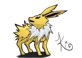 Jolteon by kiotana