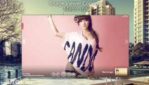 Image viewer Metro style by Brodual