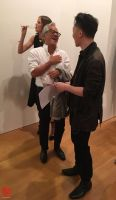 Michael Andrew Law and Artist Anish Kapoor by michaelandrewlaw