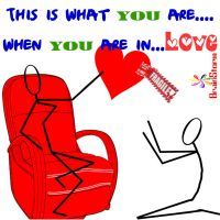 when you are in love... by d1pran