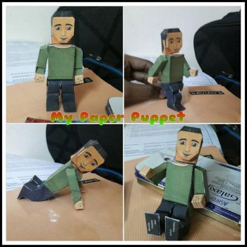 My Paper Puppet by asirbachan
