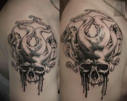 scull by ABYSS-TAT-2S