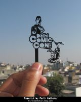 Papercut by Parth kothekar @ Delhi Comic Con by ParthKothekar