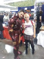 Me and Iron Man! by skullanddog