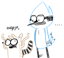 RIGBY WHAT EVEN by xx-VampirexMelly