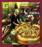 Sanji and the squirrels by G27Z