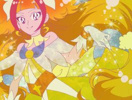 Cure Twinkle Full Moon by magnomalo
