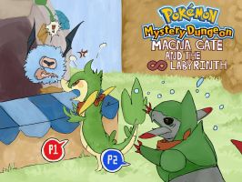 Pokemon Mystery Dungeon Poster Two by Salioka-chan