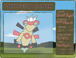 Lushfield Ranch Desert Prophet App by PCChamp053
