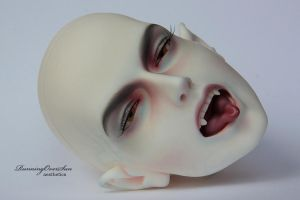 IOS Infernale, FaceUp and Tongues Painting_1 by Ariel-Sun