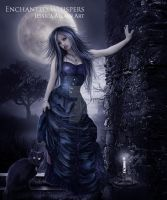 Queen of the Night by EnchantedWhispersArt