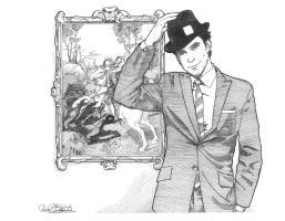 Neal Caffrey by jessehbechtold