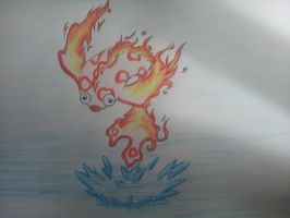 Combustion goldfish by Jenssiej