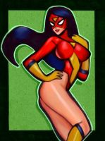 Spiderwoman 3 by Sportelli by Mythical-Mommy