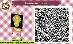 ACNL House Aeducan Heraldry by meglish