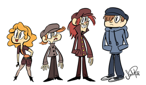 characters by happydoodle