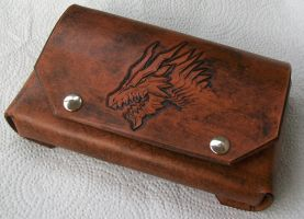 Monster Hunter 4 New Nintendo 3DS XL Leather Case by DungeonsnDecorations
