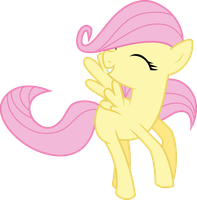 Vector 13} Fluttershy by RosaIine