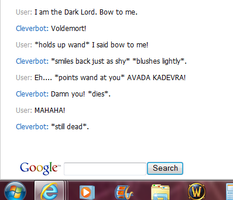 I Killed Cleverbot by Panthiguar