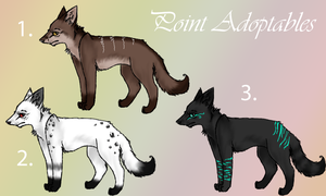 Point Adoptables //OPEN by ScrewyShiver