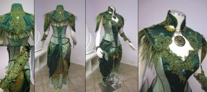 Dryad Archer Costume by Lillyxandra