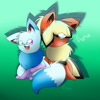 -FP- Flame by PokeAnimalsLover