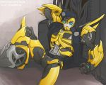 Transformers Prime Police Bumblebee 2 by massive-destruction