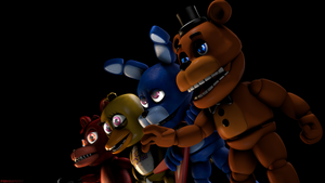 (FNaF SFM) We will not be moved! by Ferg-E