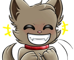 Giggles -CONTEST ENTRY for giphy- by TheMidnightMage
