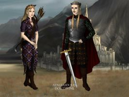 The Prince and Princess of Moonfellwood by visenyatargaryen12